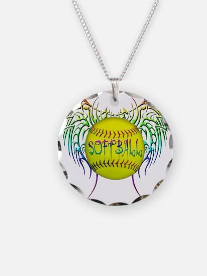 Buffy softball png Necklace
