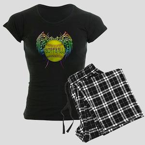 Buffy softball  Women's Dark Pajamas