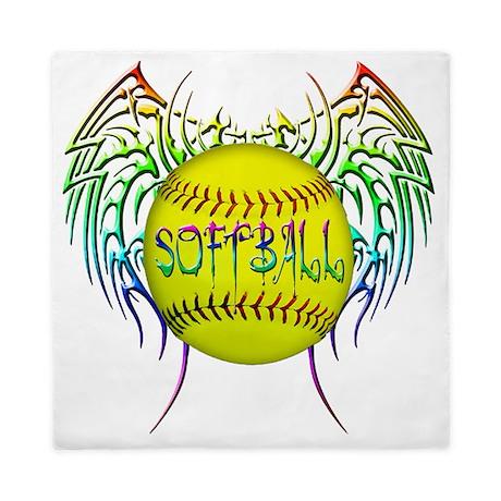 Buffy Softball Png Queen Duvet By Admin Cp3654644