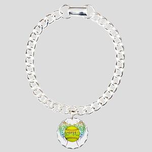 Buffy softball  Charm Bracelet, One Charm
