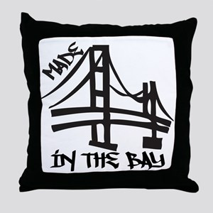 madeinthebay Throw Pillow
