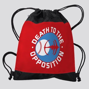 DS9 Death To The Opposition Drawstring Bag
