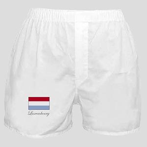 Luxemborg - Flag Boxer Shorts