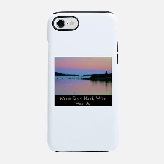 Mount Desert Island - Western iPhone 7 Tough Case