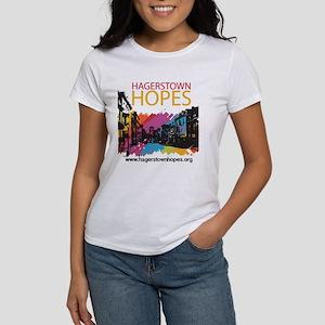 Women's Hagerstown Hopes Logo Crew Neck T-Shir