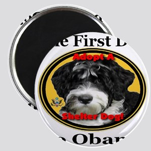 Bo_adopt_a_shelter_dog_large Magnet