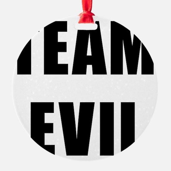 Team Evil Ornament