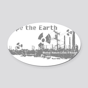 naturefinalsFinal Oval Car Magnet