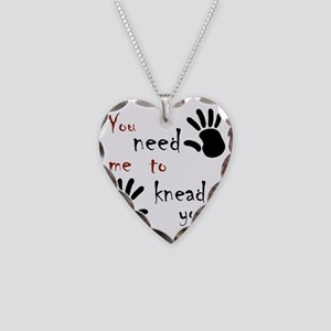 2-need to knead2 Necklace Heart Charm