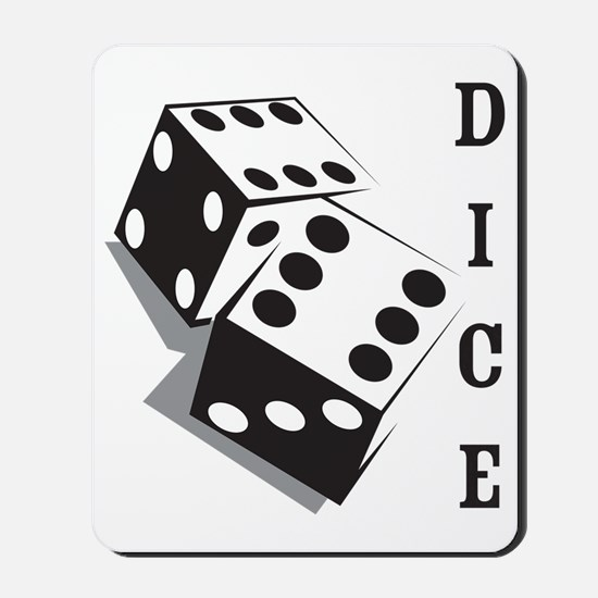 dice1 Mousepad