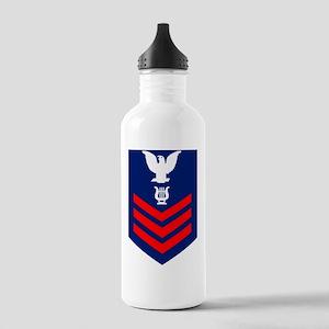 USCG-Rank-MU1 Stainless Water Bottle 1.0L