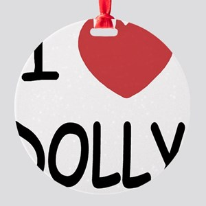 DOLLY Round Ornament