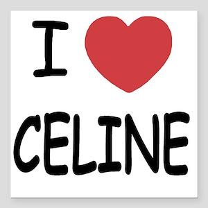 "CELINE Square Car Magnet 3"" x 3"""