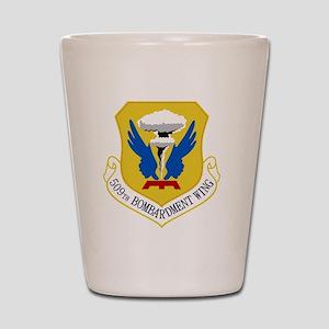 509th Bomb Wing Shot Glass