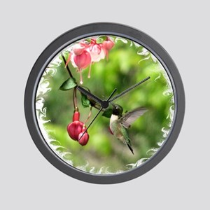 2-Hum7x7SF Wall Clock