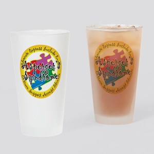 Asperger-Syndrome-Puzzle-Pin Drinking Glass