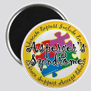 Asperger-Syndrome-Puzzle-Pin Magnet