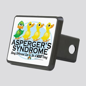 Aspergers-Ugly-Duckling Rectangular Hitch Cover