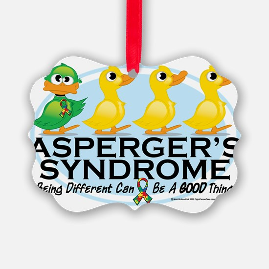 Aspergers-Ugly-Duckling Ornament