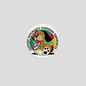 Aspergers-Syndrome-Dog Mini Button