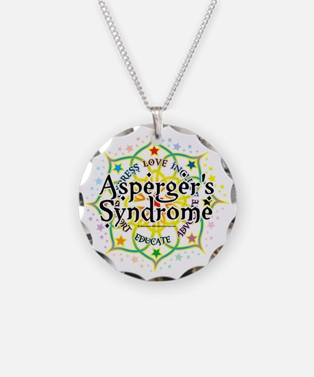 Aspergers-Syndrome-Lotus Necklace