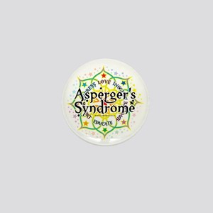 Aspergers-Syndrome-Lotus Mini Button