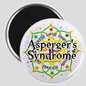 Aspergers-Syndrome-Lotus Magnet