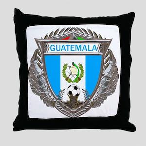 Guatemala Soccer Gym Bag Throw Pillow