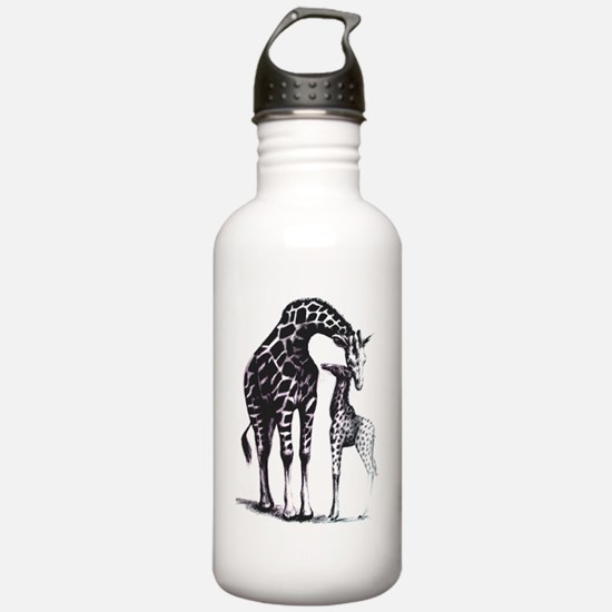 giraffes Water Bottle