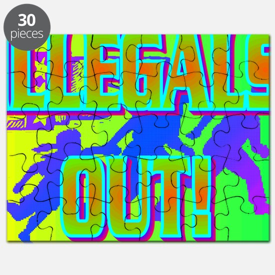 ILLEGALS OUT!(wall calendar) Puzzle