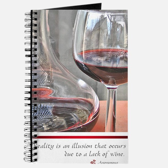 10 RED WINE QUOTE Journal