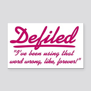 cougar-town_defiled Rectangle Car Magnet