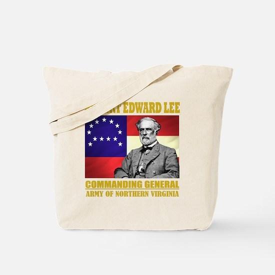 Robert E Lee -in command Tote Bag