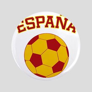 """soccerballES 3.5"""" Button"""