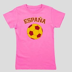 soccerballES Girl's Tee