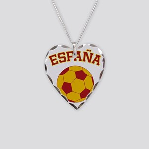 soccerballES Necklace Heart Charm