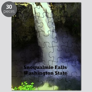 Snoqualmie Falls Washington State23x35 Puzzle