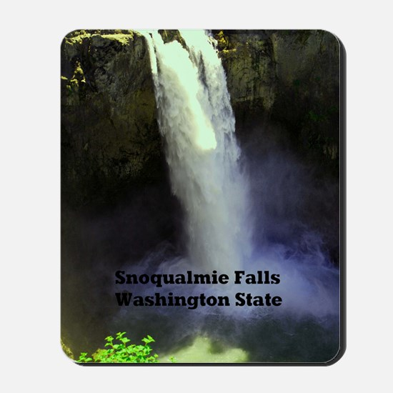 Snoqualmie Falls Washington State23x35 Mousepad