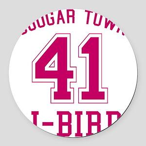 cougar-town_41-j-bird Round Car Magnet