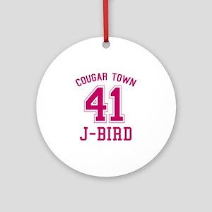 cougar-town_41-j-bird Round Ornament