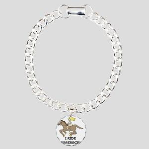 D004C_t-shirt Charm Bracelet, One Charm