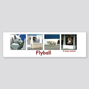Flyball Bumper Sticker