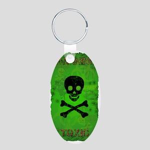 Toxic_280_H_SIGG copy Aluminum Oval Keychain