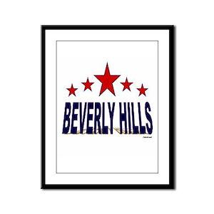Beverly Hills Framed Panel Print