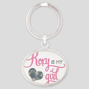 RoxyisMyGirl_Roxy Oval Keychain