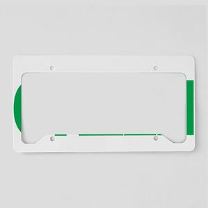Bipolar-Disorder-THINK-Green- License Plate Holder