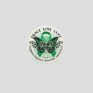 Bipolar-Disorder-Butterfly-Tribal-2 Mini Button