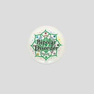 Bipolar-Disorder-Lotus Mini Button