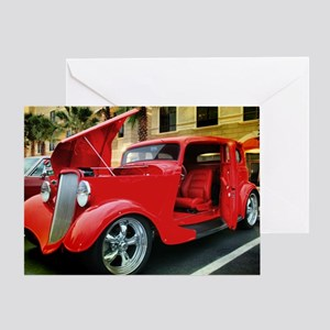 Ford Victoria 1933 Greeting Card
