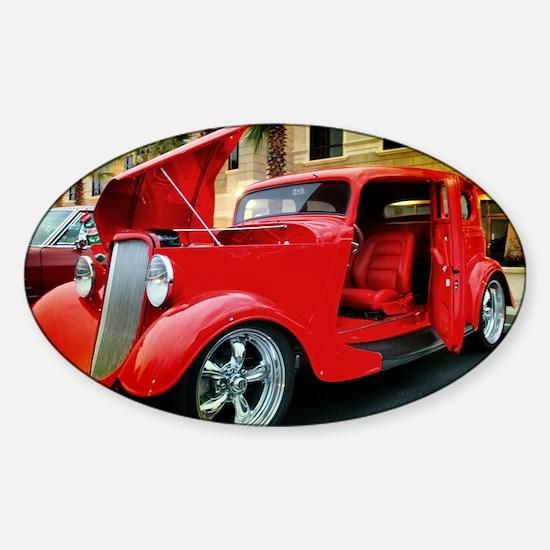 Ford Victoria 1933 Sticker (Oval)